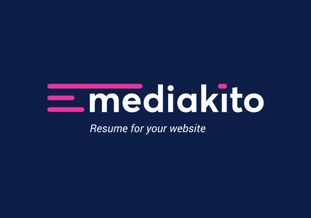 Mediakito - Resume for your website